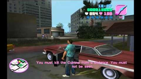 Grand Theft Auto Vice City Gameplay Playthrough w Turbid TG1 Part 17 - Being A Sniper
