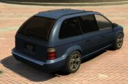 Minivan-GTA4-rear