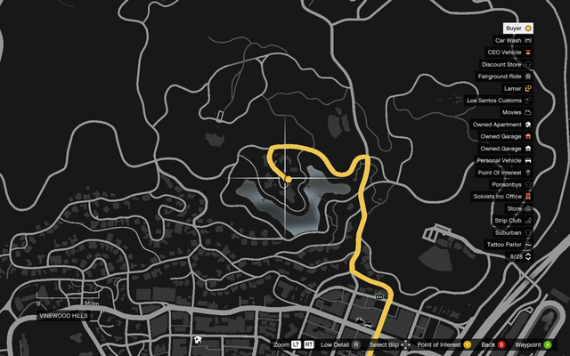 File:Vehicle Export Specialist GTAO Lake Vinewood Estates Map.png