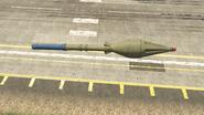 Buzzard GTAV Rocket