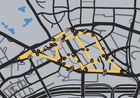 GTAO-Rodeo Loop Race Map