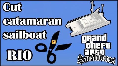 GTA San Andreas - Cut catamaran sailboat Rio