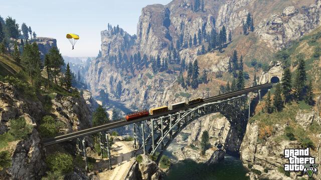 File:TrainBridge-GTAV.jpg