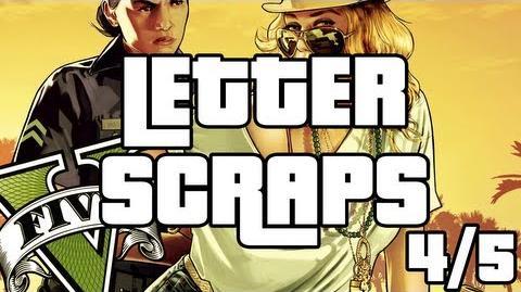 Grand Theft Auto 5 - Letter Scraps Locations - 4 5 - Central - GTA V