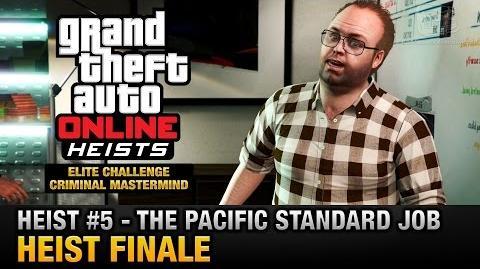 GTA Online Heist 5 - The Pacific Standard Job - Finale (Elite Challenge & Criminal Mastermind)-0