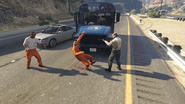 Bust Out-GTAO-Escape Fail