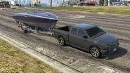 Boat trailer-GTAV-Truck