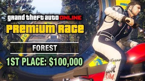 GTA Online - Premium Race 20 - Forest (Cunning Stunts)