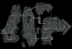 Map carthefts