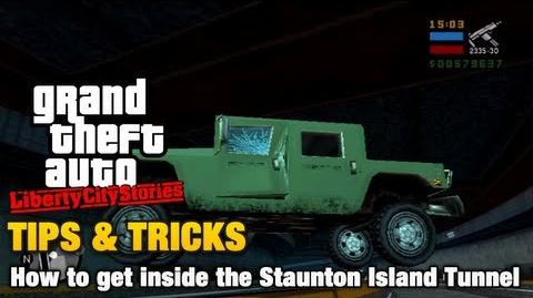 GTA Liberty City Stories - Tips & Tricks - How to get inside the Staunton Island Tunnel