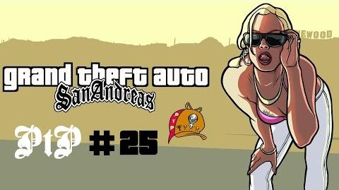 GTA San Andreas (PS4 - 1080p) PtP 25 - The Green Sabre Mission (All Dressed Up for San Fierro)