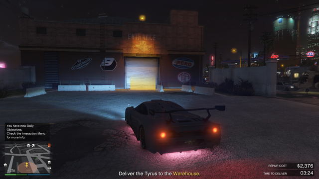 File:Grove Street Garage GTAO Vehicle Warehouse Delivery.png