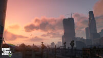 Los Santos off in the distance