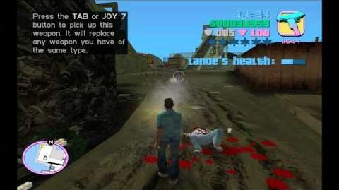 Grand Theft Auto Vice City Gameplay Playthrough w Turbid TG1 Part 19 - Saving Lance's Stupid Ass