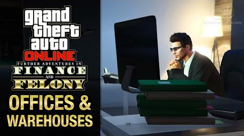 GTA Online - All Offices & Warehouses Interiors Finance and Felony DLC