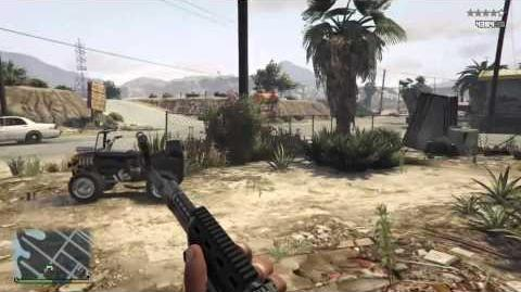 Glitches GTAVe Trevor grenades and bottle