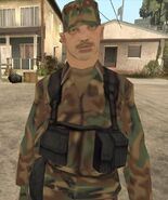 Army cop