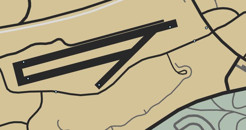 Senora Airstrip Deathmatch GTAO Map