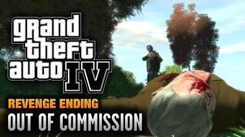 GTA 4 - Final Mission Revenge Ending - Out of Commission (1080p)