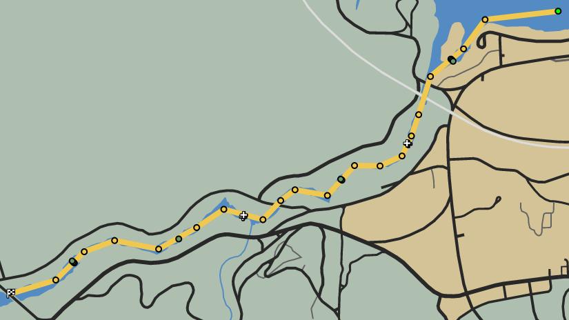 Sea Change GTAO Race Map