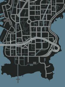 Broker-GTA IV-Map