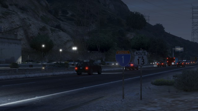 File:LosSantosFreeway-GTAV-Interstate1&Route13Signs.jpg