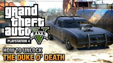 GTA 5 - How to unlock the Duke O' Death -PS4 & Xbox One