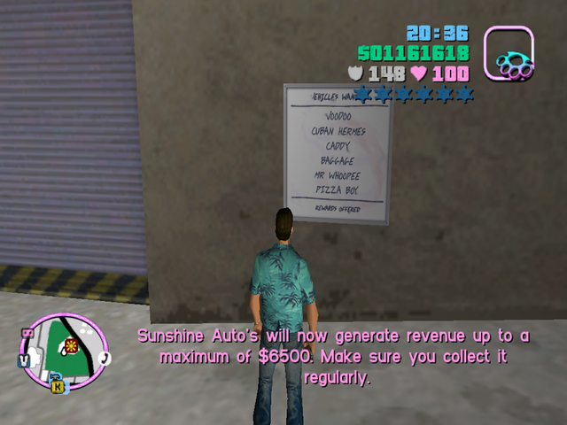 File:Sunshine Auto's GTAVC Msg.maximum6500.png