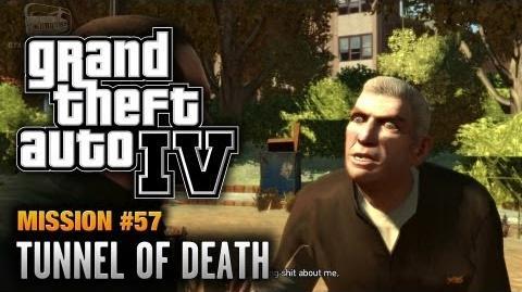 GTA 4 - Mission 57 - Tunnel of Death (1080p)