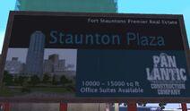 Staunton plaza