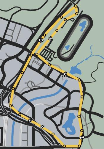 Trend Setting GTAO Race Map