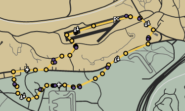 Trail Blazers GTAOe Race Map