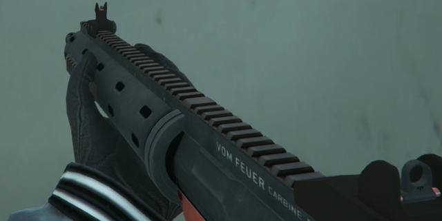 File:Carbine Rifle Orange GTA V.png