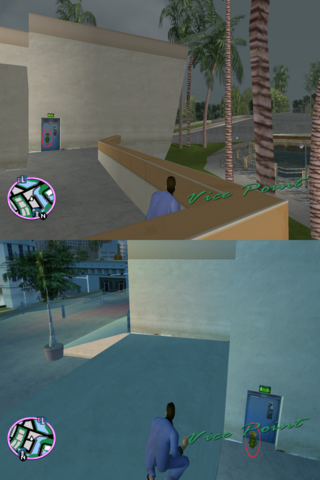 File:GTAVC HiddenPack 29 NW plaza by back door of Mercedes home.png
