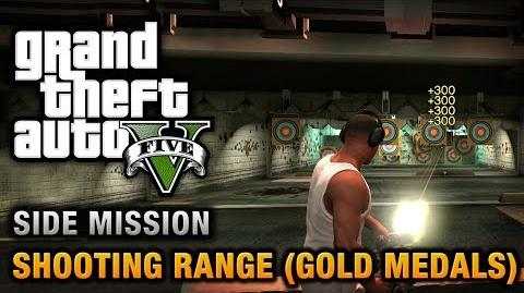 GTA 5 - Shooting Range (Gold Medals)