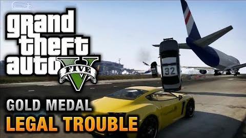 GTA 5 - Mission 66 - Legal Trouble 100% Gold Medal Walkthrough