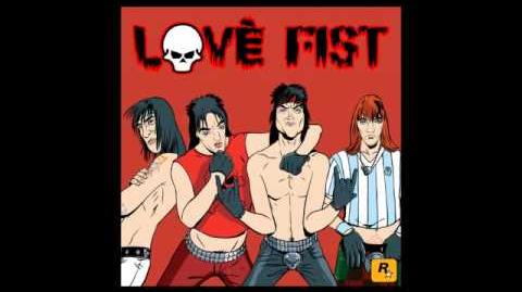 Love Fist - Fist Fury