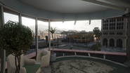 Pillbox Hill Medical Center Destroyed Ward Window GTAV