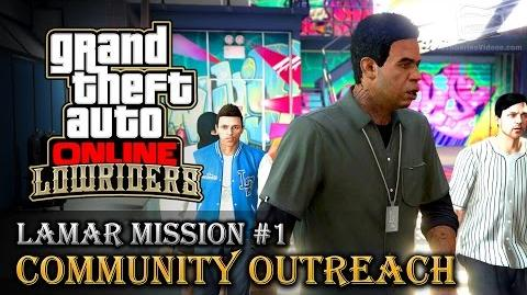 GTA Online Lowriders - Mission 1 - Community Outreach Hard Difficulty