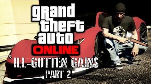 GTA Online - Ill-Gotten Gains Part 2 All DLC Contents