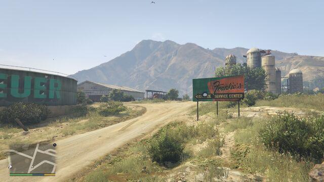 File:Frankie's Service Center GTAV-Signage.jpg