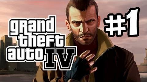GTA IV Gameplay Walkthrough Part 1 - Intro (Let's Play)