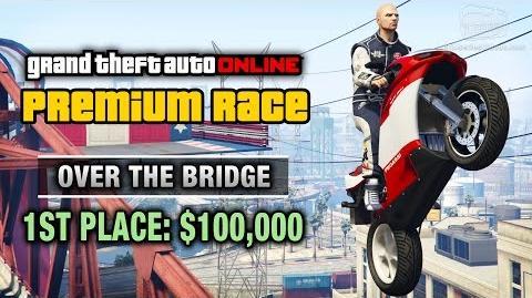 GTA Online - Premium Race 24 - Over the Bridge (Cunning Stunts)