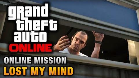 GTA Online - Mission - Lost My Mind Hard Difficulty