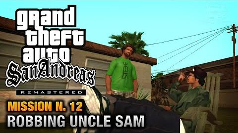 GTA San Andreas Remastered - Mission 12 - Robbing Uncle Sam (Xbox 360 PS3)