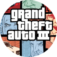 GTA III Button