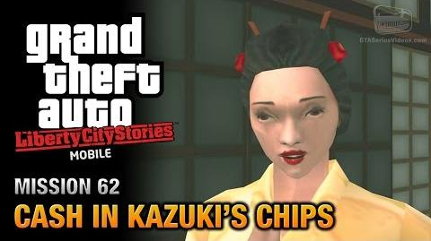 GTA Liberty City Stories Mobile - Mission 62 - Cash in Kazuki's Chips
