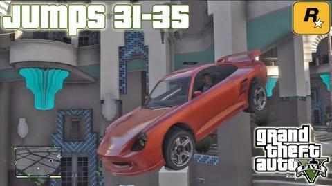 GTA5 Stunt Jumps 31-35 (Tutorial) Grand Theft Auto V PS3 Xbox 360 ᴴᴰ