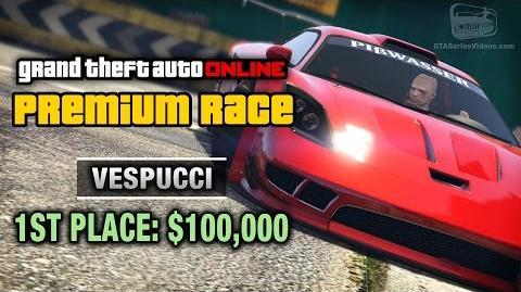 GTA Online - Premium Race 11 - Vespucci (Cunning Stunts)