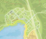 Seaview Road GTAV Map